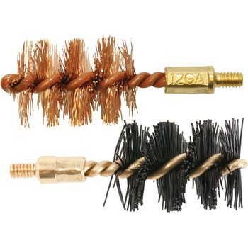 Otis 12 ga Bore Brush 2 Pack (1 nylon/1 bronze)