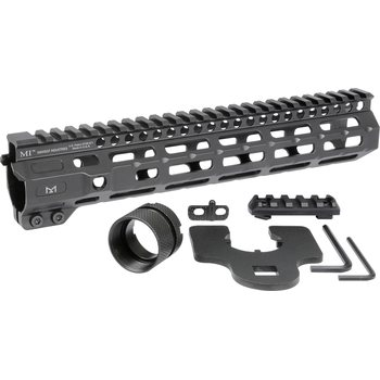 Midwest Industries 10,5 Combat Rail One Piece Free Float Handguard, M-LOK(TM) compatible